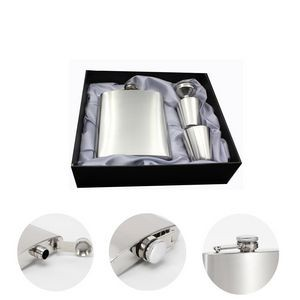 7oz Stainless Steel Hip Flasks Set